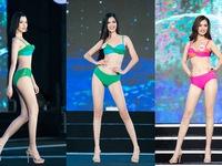 'Bỏng mắt' trước phần thi bikini Bán kết Hoa hậu Việt Nam 2020