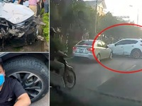 'Xe điên' gây tai nạn liên hoàn làm 1 người chết, nhiều người bị thương ở Hà Nội