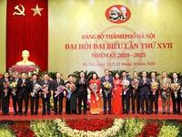 Ban Chấp hành Đảng bộ thành phố Hà Nội nhiệm kỳ 2020 - 2025 chính thức ra mắt