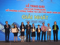 VTV wins first prize at National Press Awards for Natural Disaster Prevention and Control