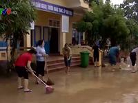 Quảng Trị tập trung khắc phục trường lớp sau lũ