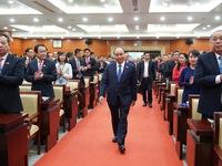 Thủ tướng Nguyễn Xuân Phúc dự Đại hội Đảng bộ TP.HCM nhiệm kỳ 2020-2025