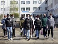 Nga ghi nhận số ca mắc COVID-19 trong ngày cao kỷ lục với hơn 15.000 người