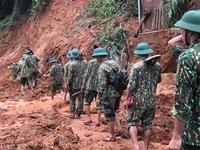 Cận cảnh hiện trường vụ sạt lở nghiêm trọng tại Quảng Trị làm vùi lấp 22 cán bộ, chiến sĩ