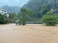 Central Vietnam floods, landslides leave 84 dead, 38 missing