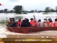 Lũ lụt nghiêm trọng ở Campuchia