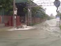 Hà Tĩnh: Nước lũ tiếp tục dâng cao