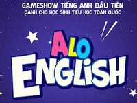Alo English - English Gameshow for elementary school students to air the first episode at 7:15 p.m o
