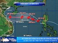 Các địa phương cần sẵn sàng các phương án ứng phó bão số 8