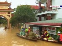 Quảng Bình thiếu phương tiện cứu trợ đường thủy