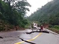 Sạt lở nghiêm trọng ở khu vực cửa khẩu Chalo