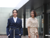 Hồng Diễm 'nóng mặt' vì Quỳnh Kool vênh váo trong phim mới