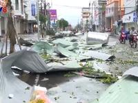 Quảng Ngãi: Khẩn trương khắc phục hậu quả sau bão số 9