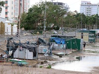 Bão số 9 làm tốc mái, hư hỏng hàng chục nghìn căn nhà
