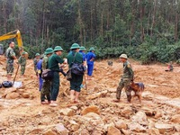Tình hình mưa lũ ngày 30/10: 22 người thiệt mạng, 24 người mất tích vì sạt lở ở Quảng Nam