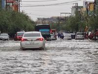 Quảng Nam: Mưa lớn gây ngập nhiều tuyến đường ở Tam Kỳ, Phú Ninh