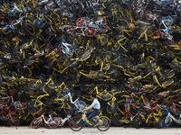 """""""Nghĩa địa' xe đạp tại Trung Quốc"""