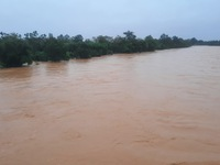 Mưa lũ nhấn chìm nhiều khu vực tại Quảng Trị