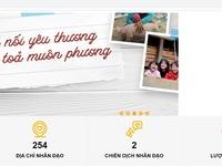Ra mắt website hỗ trợ đồng bào miền Trung