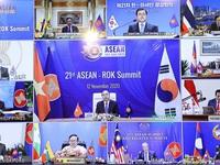 Tổng thống Hàn Quốc công bố chính sách mới tăng cường quan hệ chiến lược với ASEAN