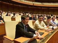 Vietnam's parliament sets growth target of 6% for 2021