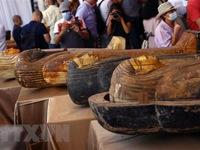 Ai Cập công bố phát hiện nhiều cổ vật niên đại 2.500 tuổi