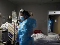 Nước Mỹ hoang mang bởi số ca nhiễm COVID-19 tăng chóng mặt