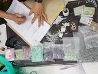 Triệt phá một 'lò' sản xuất ma túy ở Bình Dương