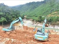 Thông đường vào Thủy điện Rào Trăng 3 tìm kiếm 12 người còn mất tích