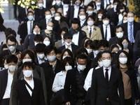 Kỷ lục hơn 2.200 ca mắc mới/ngày, Nhật Bản nâng cảnh báo lên mức cao nhất