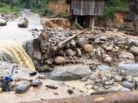 Hoàn lưu bão số 10 gây mưa lớn, tiềm ẩn nguy cơ sạt lở  vùng núi từ Hà Tĩnh đến Khánh Hòa và Tây Nguyên