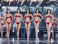 Phần thi Bikini 'đốt mắt' tại đêm Chung kết Hoa hậu Việt Nam 2020