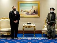 Ngoại trưởng Mỹ gặp đại diện Chính phủ Afghanistan và Taliban, thúc đẩy hòa đàm