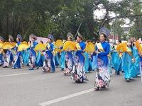 Hundreds parade in Hanoi to show off beauty of 'Ao Dai'
