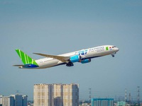 Bamboo Airways honoured as leading Asian airline for 2020