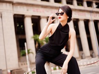 Lương Thu Trang hóa thành quý cô sành điệu trong bộ ảnh mới