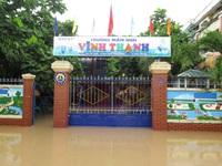 Mưa lớn gây ngập nhiều nơi tại Khánh Hòa và Phú Yên