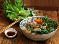 Vietnamese noodle soup—version of Can Tho
