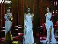 Hồng Diễm, Thu Quỳnh, Phương Oanh đọ sắc trong 'Chào 2021'