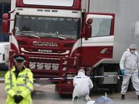 Vụ 39 thi thể trong xe tải ở Anh: Hai bị cáo bị kết tội ngộ sát