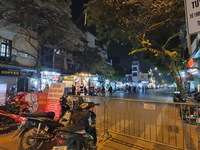 Pedestrian zone around Hoan Kiem lake extended