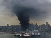 500 tấn phân bón amoni nitrat đã gây ra vụ nổ kinh hoàng ở cảng Beirut