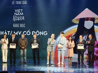 """""""Ghen Co Vy"""" song wins first prize at propaganda awards on COVID-19 prevention"""