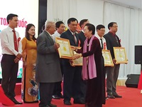 Over 290 exemplary learning models honoured
