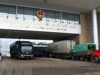 Customs clearance resumed at Lao Cai border gate