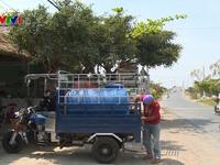 Hàng nghìn hộ dân Bến Tre phải sử dụng nước nhiễm mặn