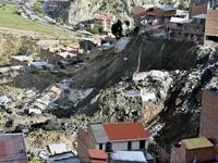 Mưa lớn gây lở đất tại Bolivia, ít nhất 8 người đã thiệt mạng