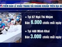 5 điểm bán khẩu trang vải kháng khuẩn ở Hà Nội