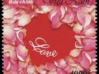 """Phát hành bộ tem """"Tem Tình yêu"""" nhân dịp Valentine 2020"""