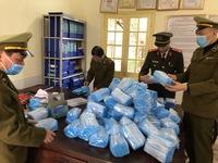 Lạng Sơn: Bắt giữ 3.000 sản phẩm khẩu trang y tế không rõ nguồn gốc, xuất xứ